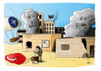 Unterstuetzung fuer Kobane