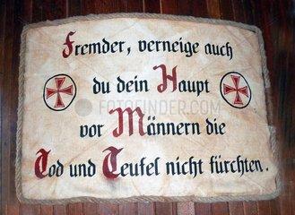 Spruch Deutsche Gesellschaft zur Rettung Schiffbruechiger