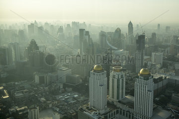 THAILAND BANGKOK CITY SKYLINE SUNRISE