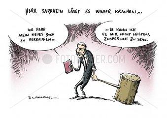 Thilo Sarrazin zieht mit seinem neuen Euro-Kritik-Buch durch die Talkshows