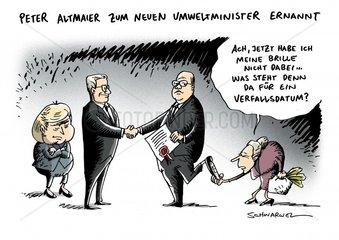 Entlassung Roettgen Peter Altmaier Bundespraesident neuer Umweltminister