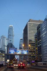 Hong Kong  China  Strassenszene im Stadtteil Central