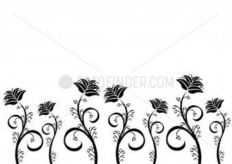 Blumen Ornament Fries Flowers