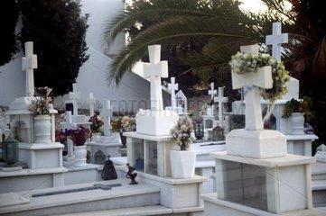 Serie Griechenland Friedhof Graeber Naxos
