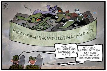 Bundeswehr-Attraktivitaetssteigerungsgesetz