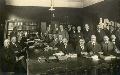 Lehrerkollegium  Realgymnasium Zwickau  1929