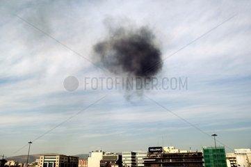 Abgaswolke Umweltverschmutzung