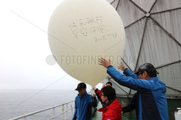 CHINA-ARCTIC EXPEDITION-METEOROLOGICAL OBSERVATION