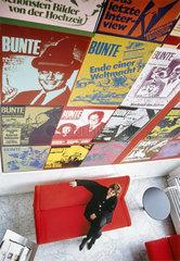 Beate Wedekind  Chefredakteurin BUNTE  1992