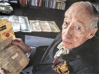 André Kostolany  Boersenexperte  1996