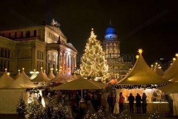 2009  berlin deutschland  weihnachtsmarkt am gendarmenmarkt