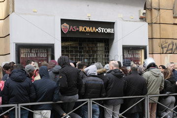AS Roma Fussballfans