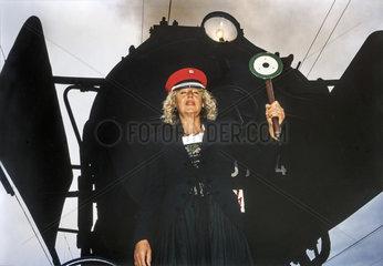 Renate Schmidt  SPD-Vorsitzende Bayern  Wahlkampf 1994