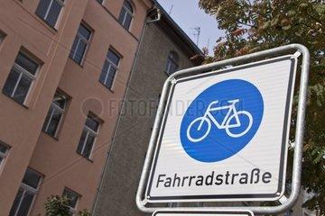 Verkehrschild in der Berliner Innenstadt