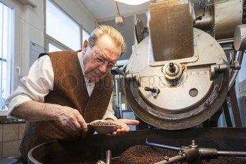 traditionelle Kaffeeroesterei
