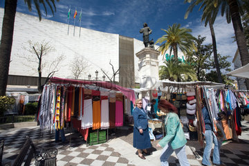 Sevilla  Spanien  Flohmarkt