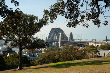 Sydney  Australien  Sydney Harbour Bridge