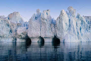 Eisberge in der Discobucht  Groenland