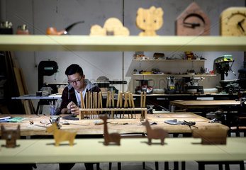 CHINA-XI'AN-CARPENTRY (CN)