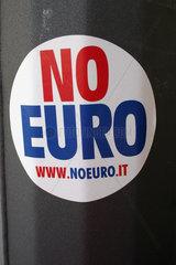 Italy. Rome - No Euro