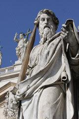San Paolo vor dem Petersdom