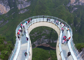 CHINA-CHONGQING-SKYWALK (CN)