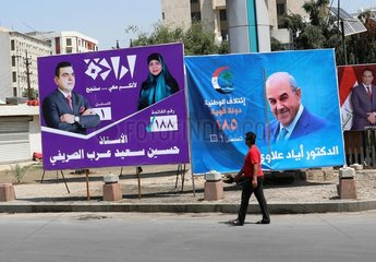IRAQ-BAGHDAD-PARLIAMENTARY ELECTION-PREPARATION