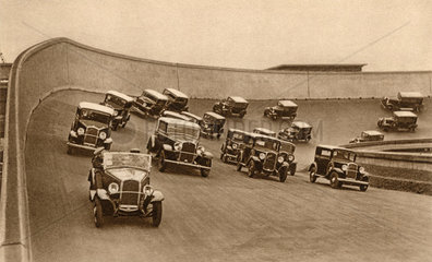 Fiat 508 auf der Teststrecke  Turin  1932
