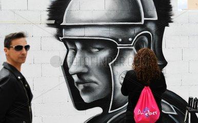 SPAIN-GUADALAJARA-DRIEBES-GRAFFITI-CONTEST