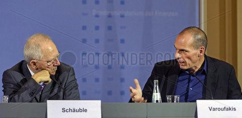 Schaeuble + Varoufakis