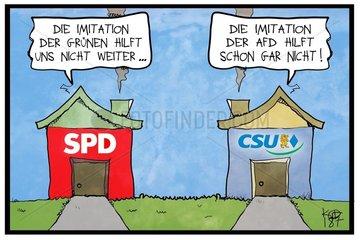 Die Selbstkritik von SPD und CSU