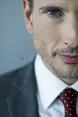 Businessman  close-up portrait