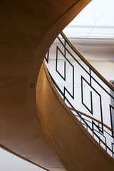 Spiral staircase  low angle view