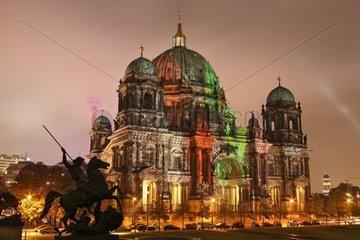 Museumsinsel Dom  UNESCO Welterbestaette  Festival of Lights 2010  Berlin