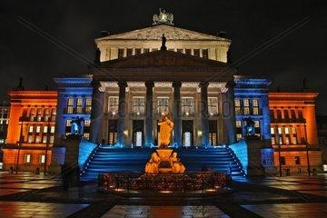 Das Schauspielhaus am Gendarmenmarkt beim Festival of Lights 2010  Berlin