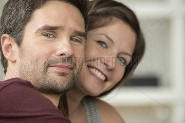 Couple in love  portrait