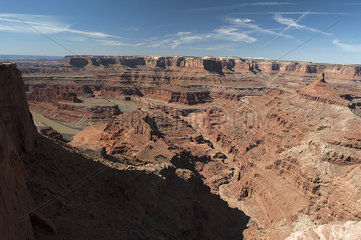 Dead Horse Point State Park  Utah  USA