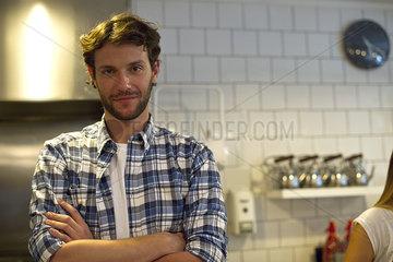 Restaurant employee  portrait