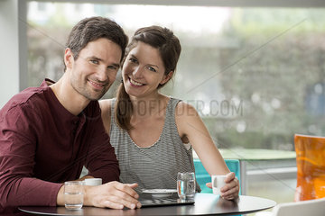Couple spending quality time together