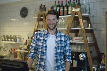 Cafe owner  portrait