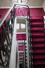 Staircase  high angle view