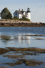 Tranquil scene with lighthouse
