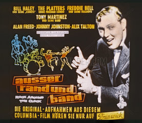 Altes Kinodia  Bill Haley  Ausser Rand und Band  Musikfilm  1956