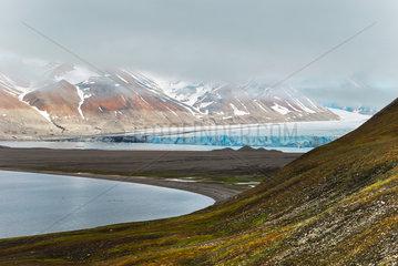 Gletscher auf Spitzbergen  Norwegen
