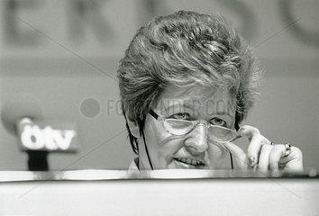 Monika Wulf-Mathies  OeTV-Vorsitzende  1986