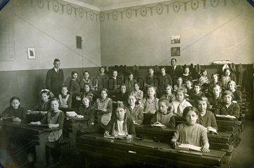 Klassenfoto im Jahre 1925