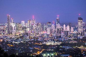 Naechtliches Brisbane