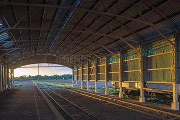 Bahnhof von Cunnamulla