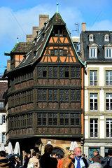 Strassburg  Frankreich  Haus Kammerzell