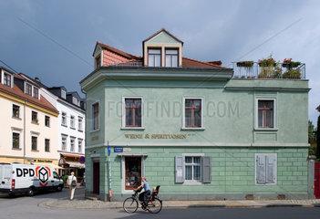 Dresden  Deutschland  sanierte Altbauten in Dresden-Neustadt